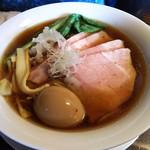 79378611 - 醤油煮干し叉焼麺¥1,100~