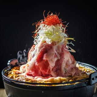 《神戸牛》を使用した肉鍋は大満足間違いなし☆