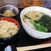 道の駅 あいの土山 - 料理写真: