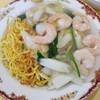 中華ハウス チェリオ - 料理写真:エビ入りあんかけやきそば塩 720円