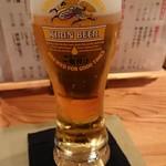 睦月処 穂寿美 - 生ビール