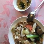 中国ラウンジ 味雅 - 料理写真:五目あんかけご飯