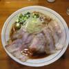 醤油と貝と麺 そして人と夢 - 料理写真:肉そば ①イベリコ豚レアチャーシュー 大盛り