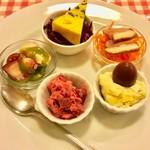 ビストロ かたおか - 料理写真:「本日の前菜」(5種盛)。