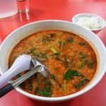 中国家庭料理大連 - 【ランチ 巨大麺】担々麺