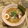 ラーメン バードマン - 料理写真:サバ辛白湯soba