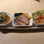 鼓々里 - 料理写真:前菜。