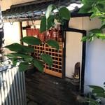 九つ井 - 座敷の入口