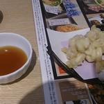 和食レストランとんでん - 真だらの白子天ぷら