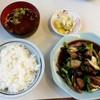好々亭 - 料理写真:好々亭@銚子 レバニラいためライス(840円)
