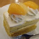 ケーキの西銀 - ドリンクセット(シースーケーキ)