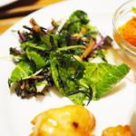 Mirumuji - しろ菜とひじきのサラダ