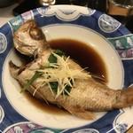 のどぐろ日本海 - のどぐろの煮付け
