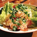 クワカンワット - ラーププラームック(酸っぱ辛いイカのサラダ)