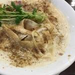 麺屋昊鶏 - 旻鶏魚介麺750円