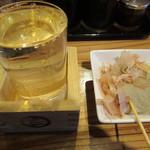 79395082 - 日本酒にお通し