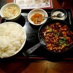 79395556 - 麻婆豆腐定食