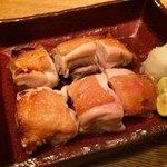 小割烹 おはし - 塩鶏の柚子胡椒焼き 880円