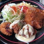 レストラン 洋食・和食 ハクバ - 2017.12.17  日替りランチA