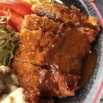 レストラン 洋食・和食 ハクバ - 2017.12.17  トンカツ