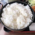 レストラン 洋食・和食 ハクバ - 2017.12.17  大盛りライス