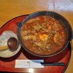 鶴る - 料理写真:味噌煮込みうどん