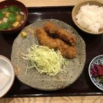有機和食 山藤 - [ランチ]カキフライ定食