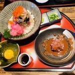 楽味家まるげん - 海鮮みぞれ丼(1,580円)