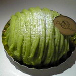 ドゥー・シュークル - だだちゃ豆のモンブラン