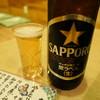 やきとりちゃんこ夢 - ドリンク写真:瓶ビールはお高め