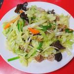 俵屋飯店 - 野菜炒め