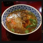 中国蘭州牛肉拉麺 王記 - 牛肉ラーメン780円