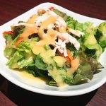 ハンバーグ&ステーキ 芝浦 - ランチのサラダ