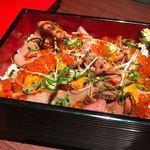 ハンバーグ&ステーキ 芝浦 - 和牛の宝石箱。ウニは飾りだなw