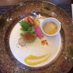 彩香 - 前菜