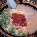 一蘭 - 料理写真:ラーメン790円 秘伝のタレは基本の5倍で