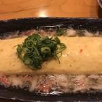 和遊食 肴菜や - だし巻きカニあんかけ
