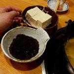 ごっつ庵 - トッピング豆腐、生もずく