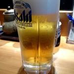 権太呂すし - 生ビール