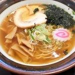 九十九里片貝波乗り食堂 - 料理写真:朝ラーメン450円
