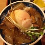 因幡うどん - ミニ温玉親子丼