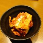三軒茶屋 焼肉さかもと - 白菜キムチ