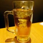 三軒茶屋 焼肉さかもと - ウーロン茶