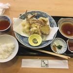79412869 - いか天ぷら(いか活け造り定食の一部)