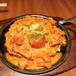 ぼてぢゅう  - トマトとアボカドとゴーダチーズのお好み焼き   1,400円
