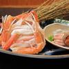旬魚たつみ - 料理写真:ゆでがに(松葉がに、親がに、内子、外子など)