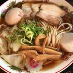 79415489 - らー麺Do・Ni・Bo(朝らー全部のせ)