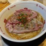 福島壱麺 - 炙り牛肉塩そば