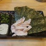 福島壱麺 - 鶏胸海苔巻