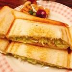 79417999 - 野菜サラダプレスサンド